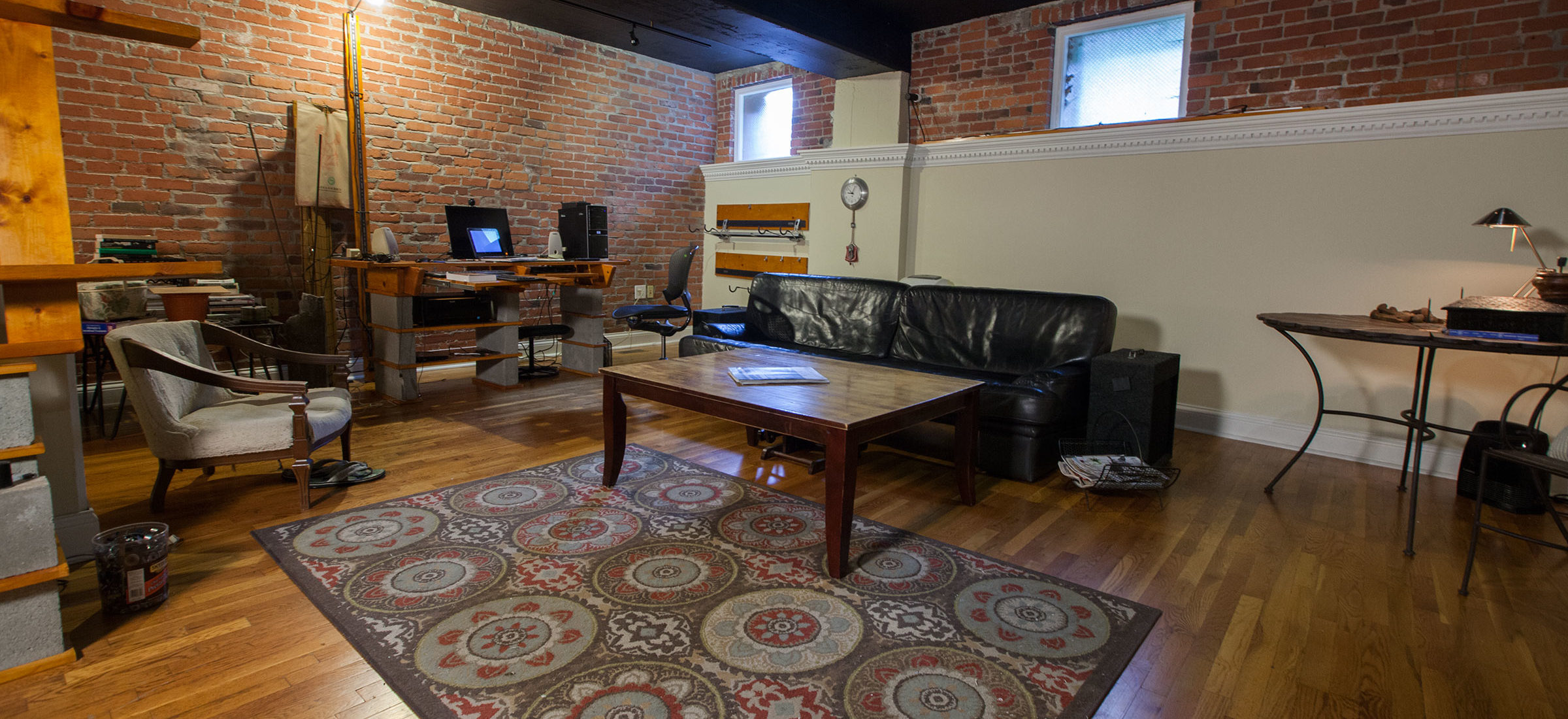 The Lofts On Belmont Living Room1